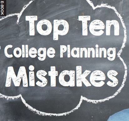 College Planning Mistake e-book image